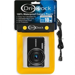 DRI-DOCK Camera Waterproof Pouch XL Yellow - Phuket Dive Tours