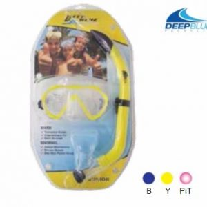 Deep Blue Fiji Snorkeling Set