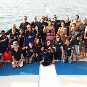 Here's the team and crew for the Racha scuba Diving Day Trip