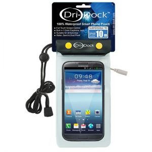 Dri-Dock Smart Phone Pouch - Transparent - Phuket Dive Tours