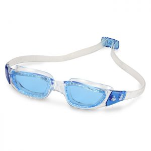 KAMELEON-Blue-Lens-Clear-Frame-Blue-Buckles-Phuket Dive Tours